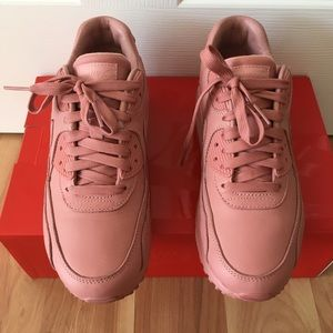 0fb7ccc0ceca Nike Shoes - women s leather red stardust pink nike air max 90